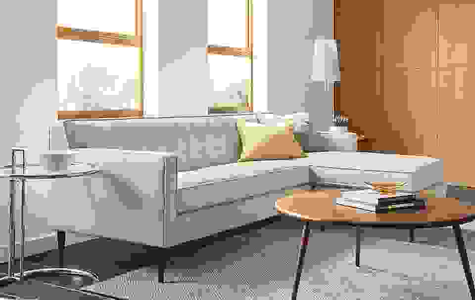 Holmes Sofa with Reversible Chaise