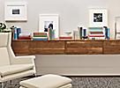 Profile Frames in White & Sand
