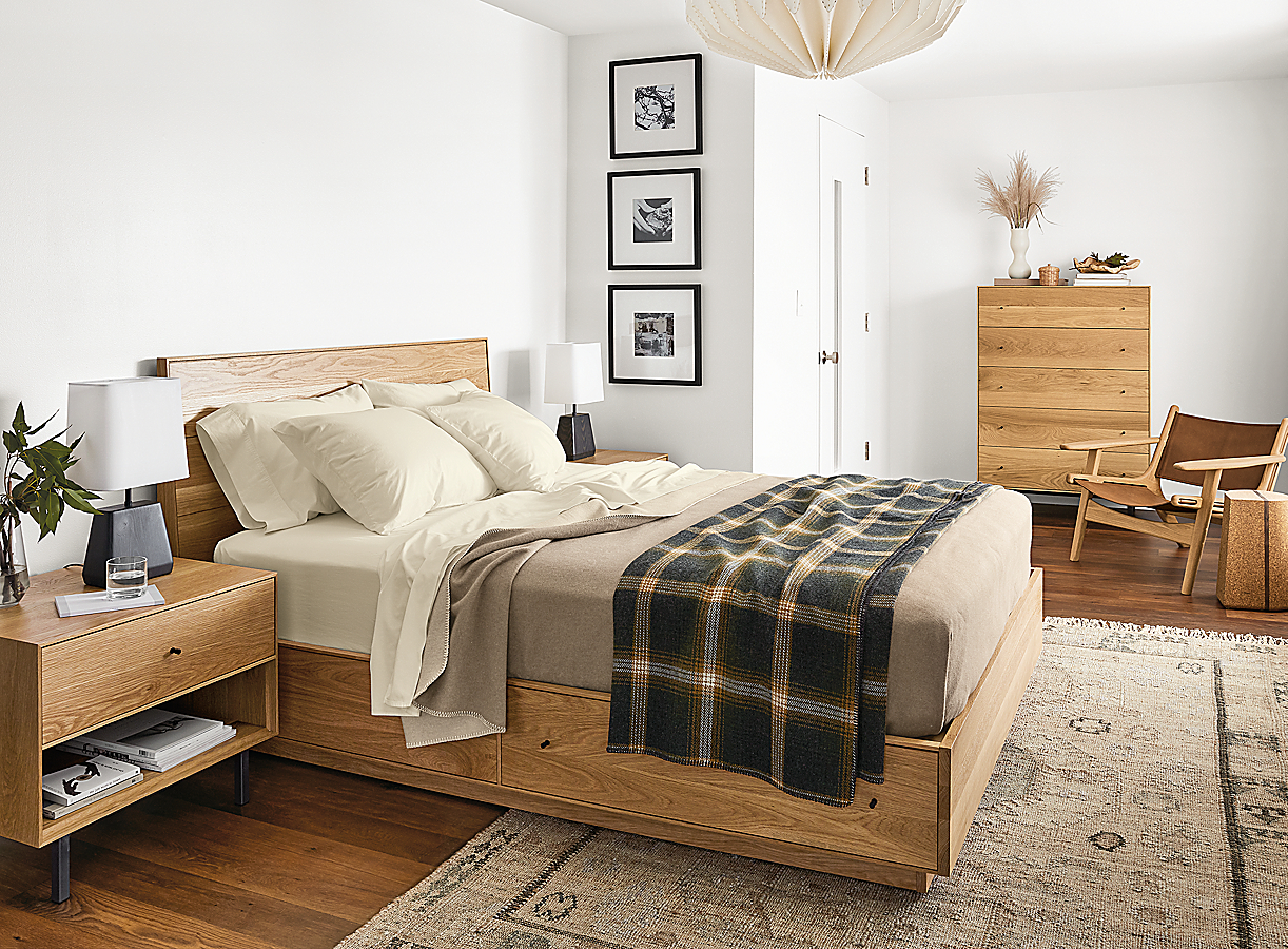 Scandinanvian Bedroom with Hudson Collection