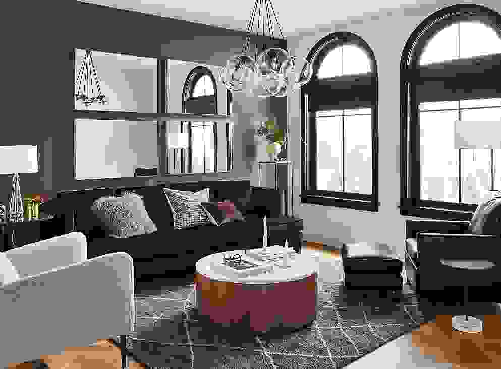 Living Room Walls in Hirshfield's Paint, Rawhide
