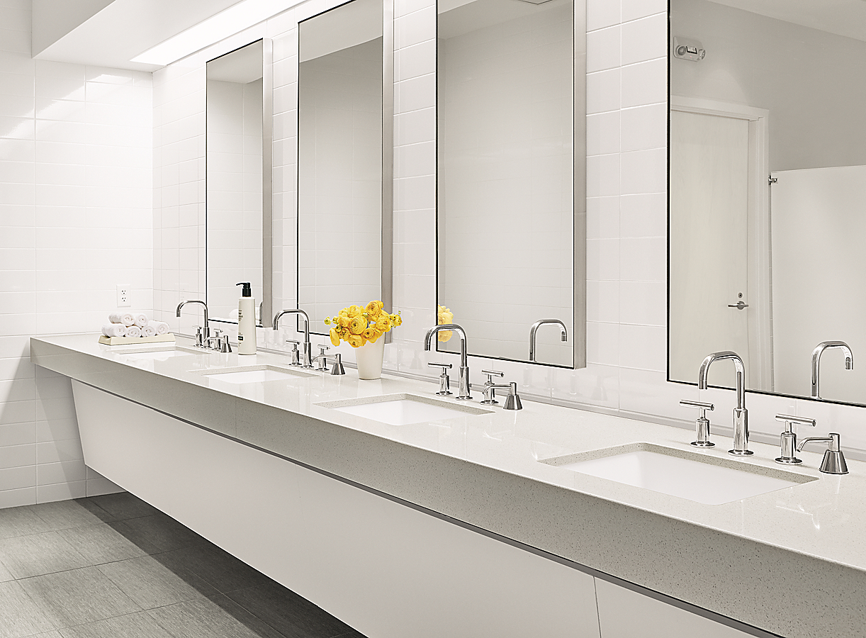 Infinity Wall Mirrors in Stainless Steel