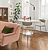 Pedestal Base Julian Table with Wolfgang Chairs