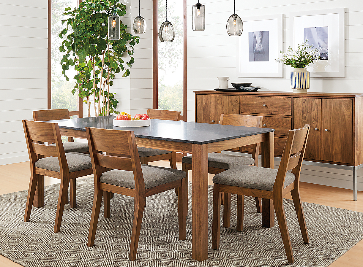 Linden Table and Afton Chairs