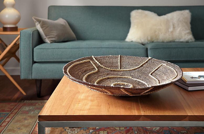 Detail of African Makenge basket