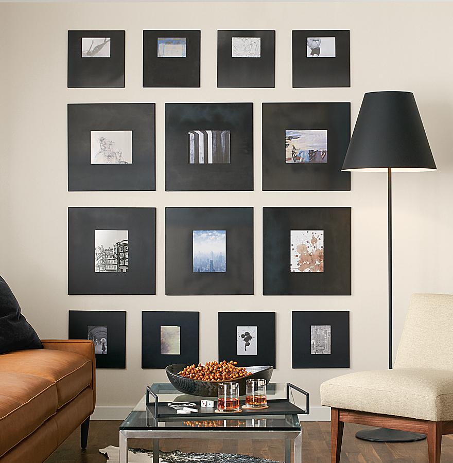 Natural Steel Manhattan Frame Wall