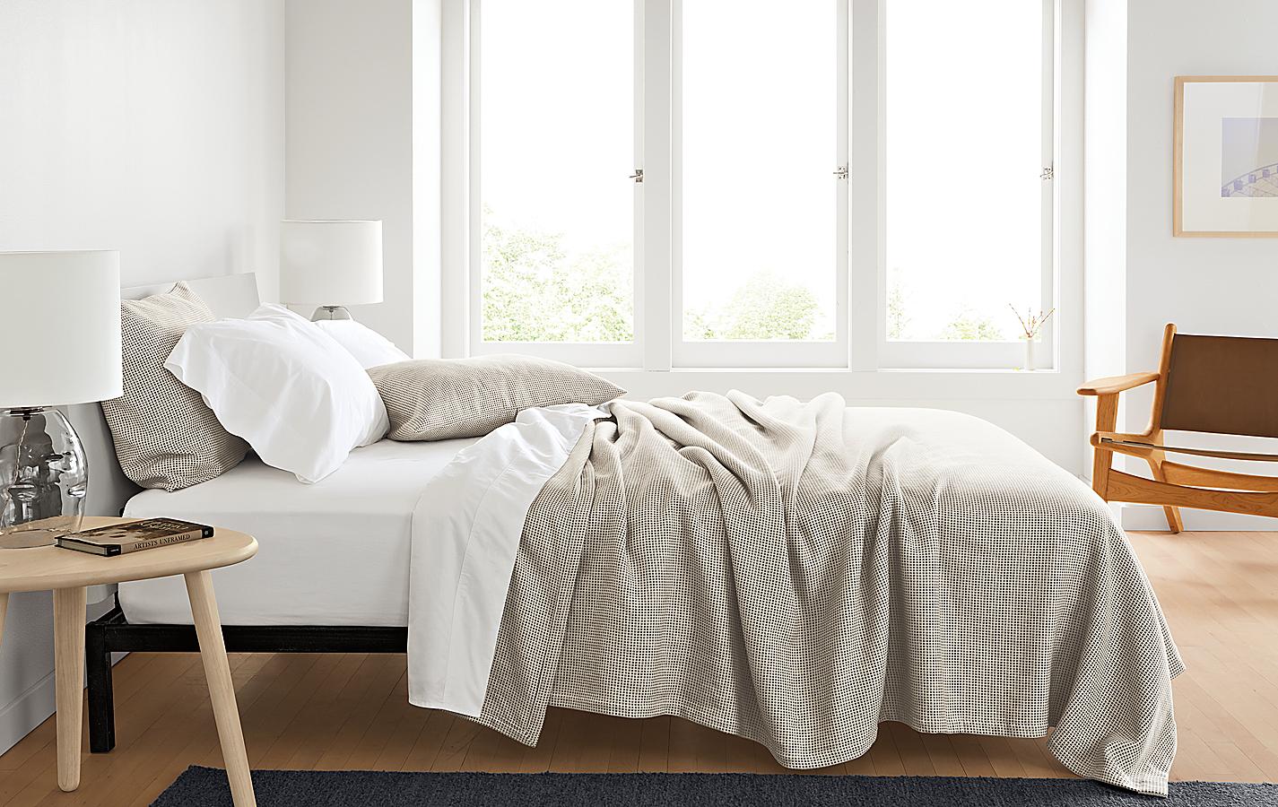 Mara Ivory/Grey Bedding