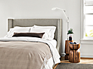 Marlo Bed with Nyla Stools