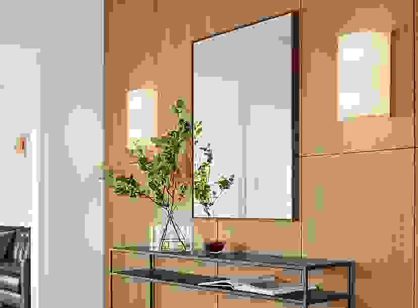 Hudson Mirror in Entryway