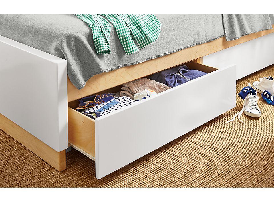 Moda Under Bed Storage Drawers Room, Bed With Under Storage