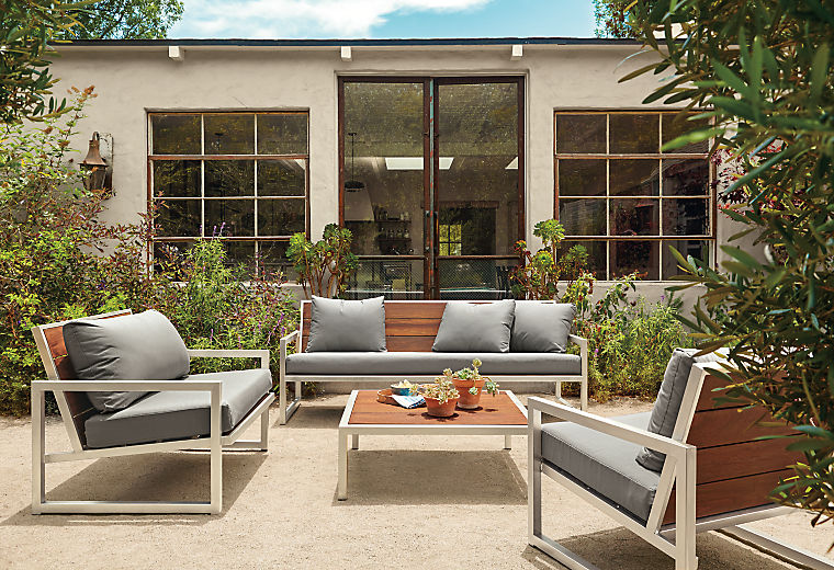 Montego outdoor collection with cushions