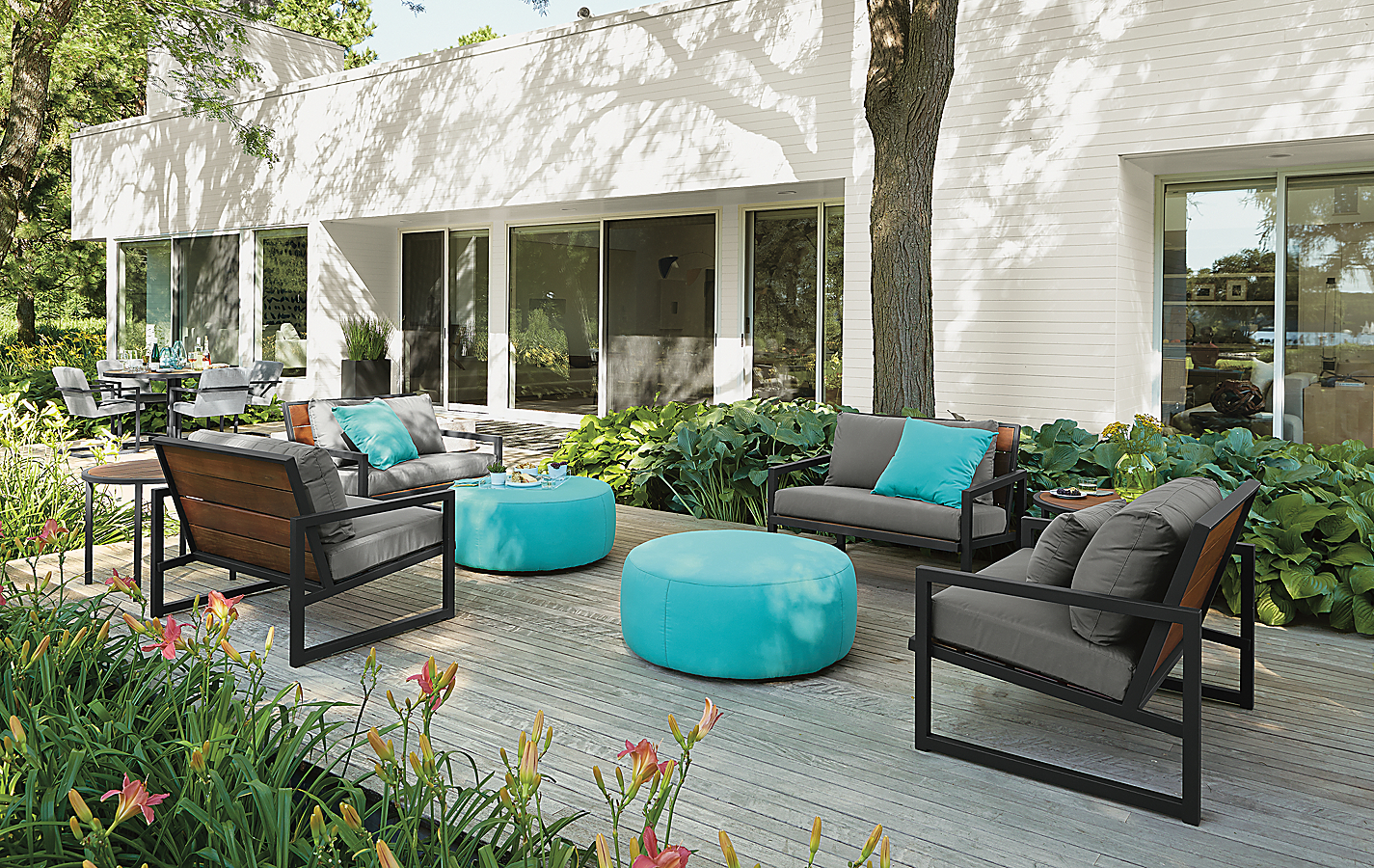 Montego Collection with Turquoise Accent