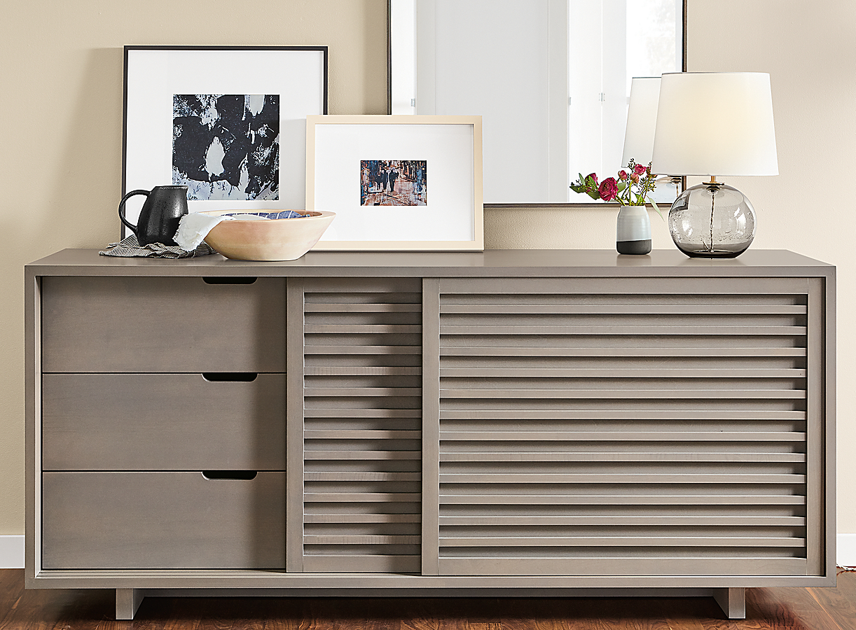 Moro Storage Cabinet in Shell