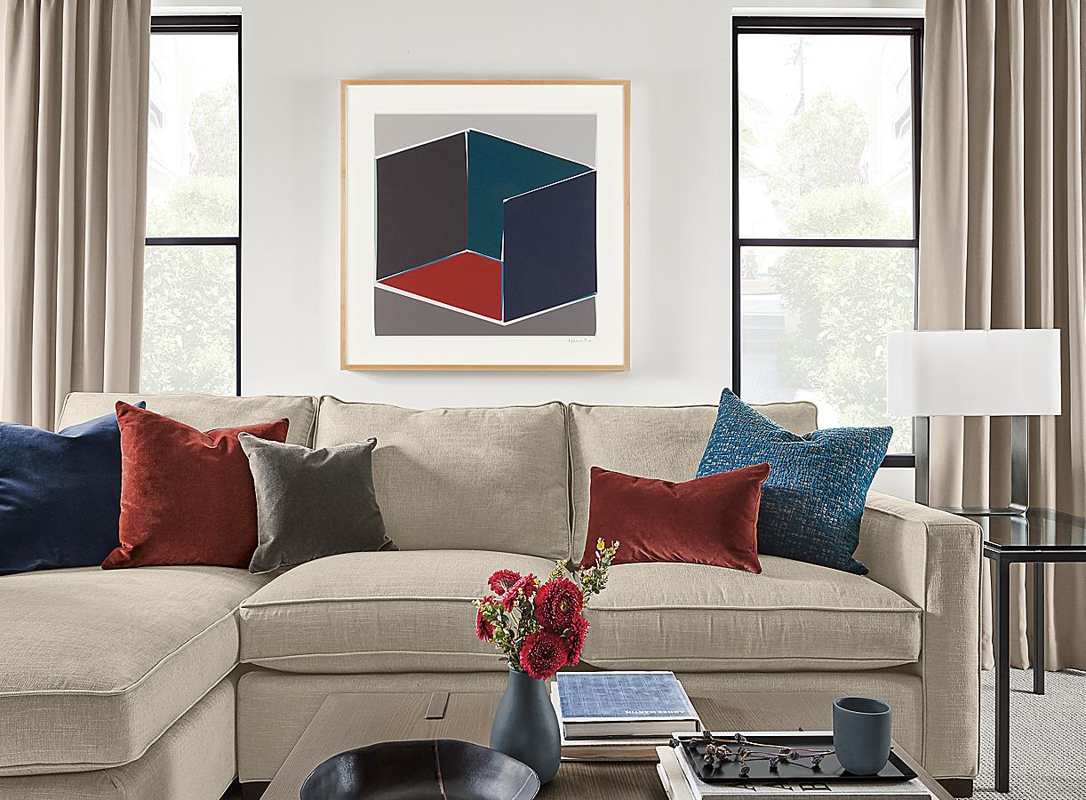 Henri Boissiere, Open Cube Series 1 Silkscreen