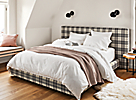 Sommerville Duvet Cover with Thea Mauve Coverlet