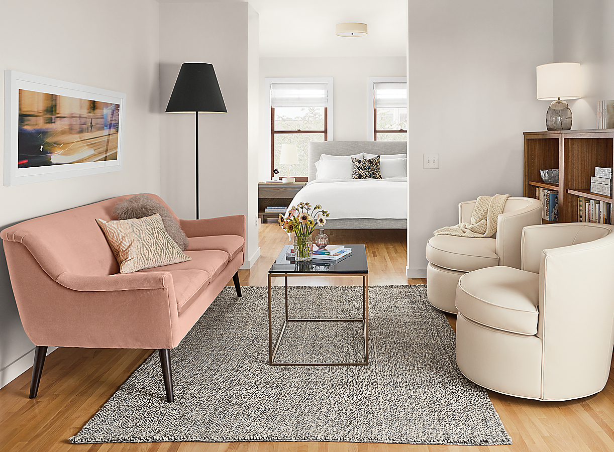 Otis Swivel in Living Room