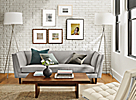 Eclectic Frame Wall
