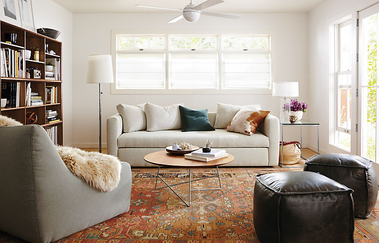 Oxford 91-inch sleeper sofa