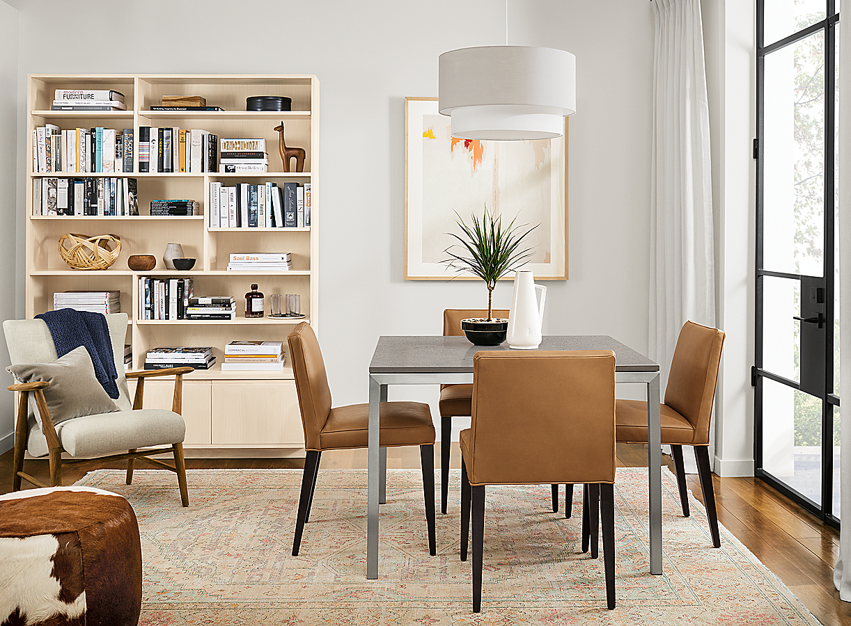 Parsons Table with Ava Chairs