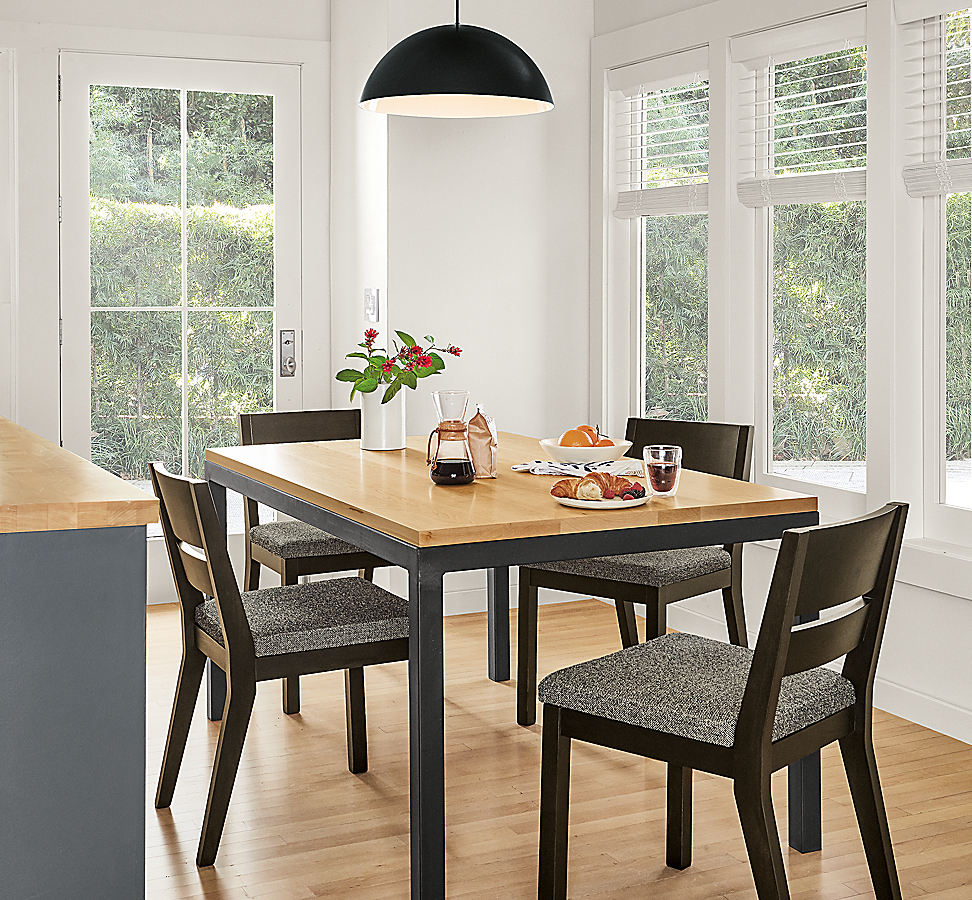 Parsons Table and Afton Chairs