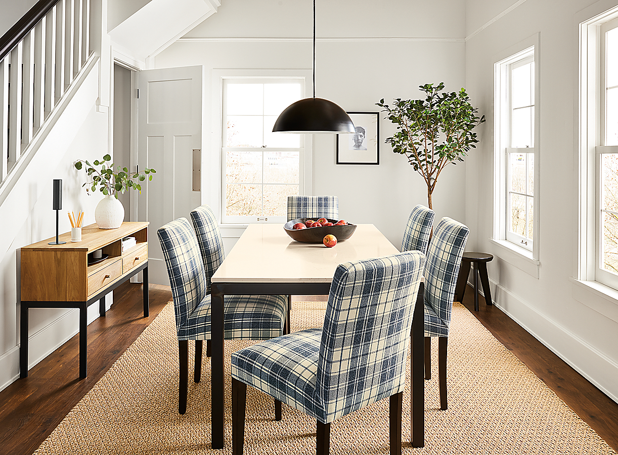 Peyton Chairs in Galway Cadet Plaid