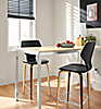 Small Dining Area: Parsons Counter & Pike Stools