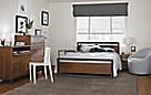 Piper Bed with Copenhagen in Walnut