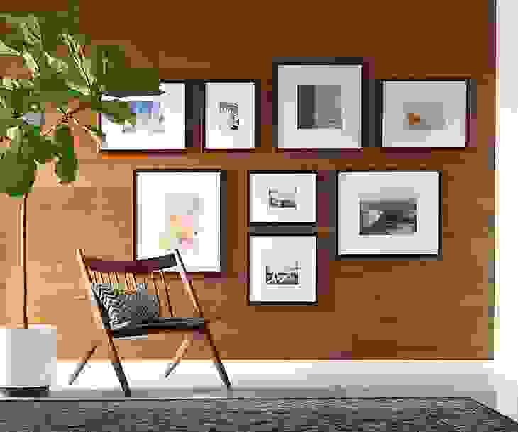 Profile in Black Frame Collage