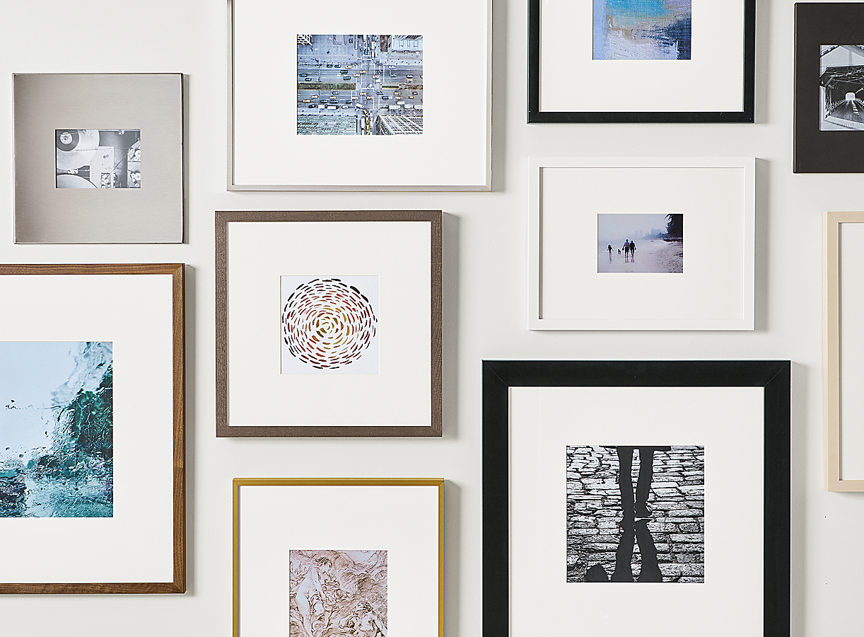 Profile Frame Gallery Wall