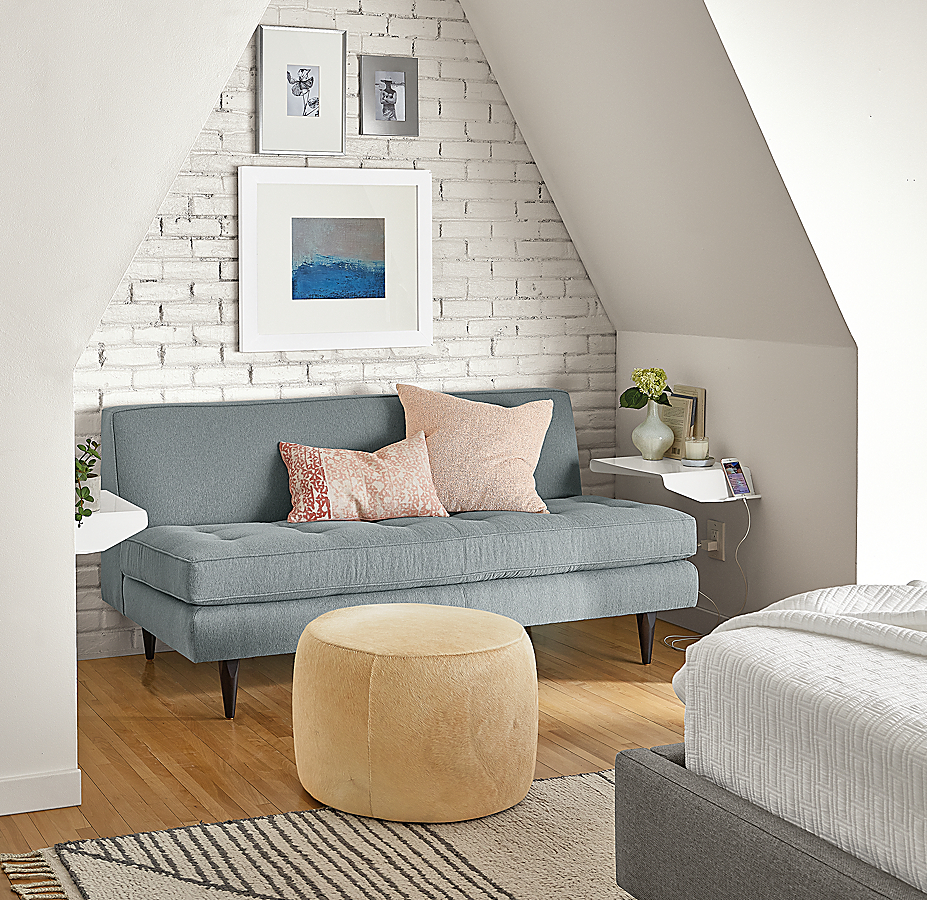 Reese Armless Loveseat Seating Area