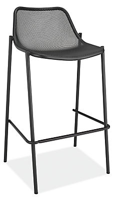 Silhouette detail of Soleil bar stool