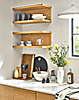 Staten Wall Shelves and Kitchen Accessories