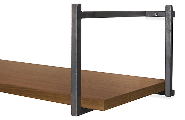 Detail of Stave single wall shelf