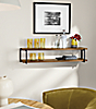 Stave Double Wall Shelf