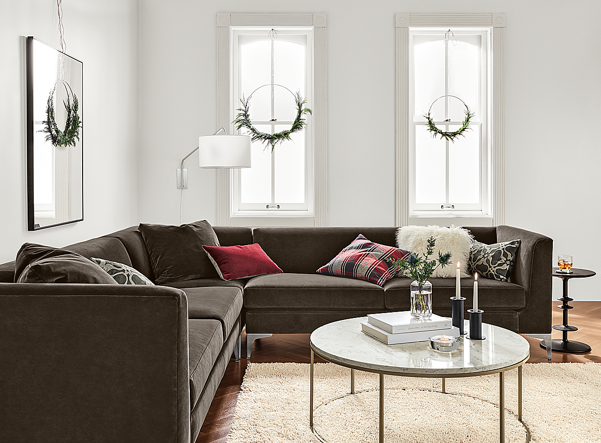 """Sterling 106x106"""" Three-Piece Sectional"""