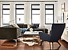 """Sterling 106x102"""" Sectional with Left-Back Sofa"""