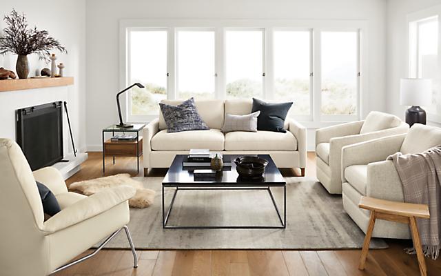 Stevens Sofas Modern Sofas Loveseats Modern Living Room Furniture Room Board