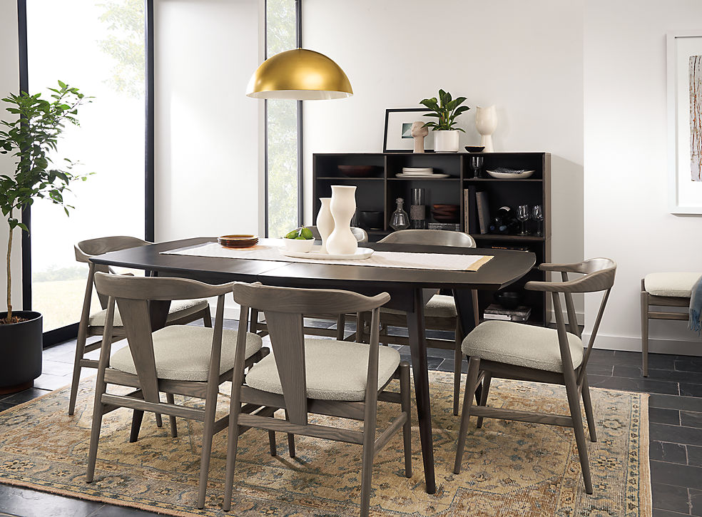 Ventura Table in Charcoal Finish