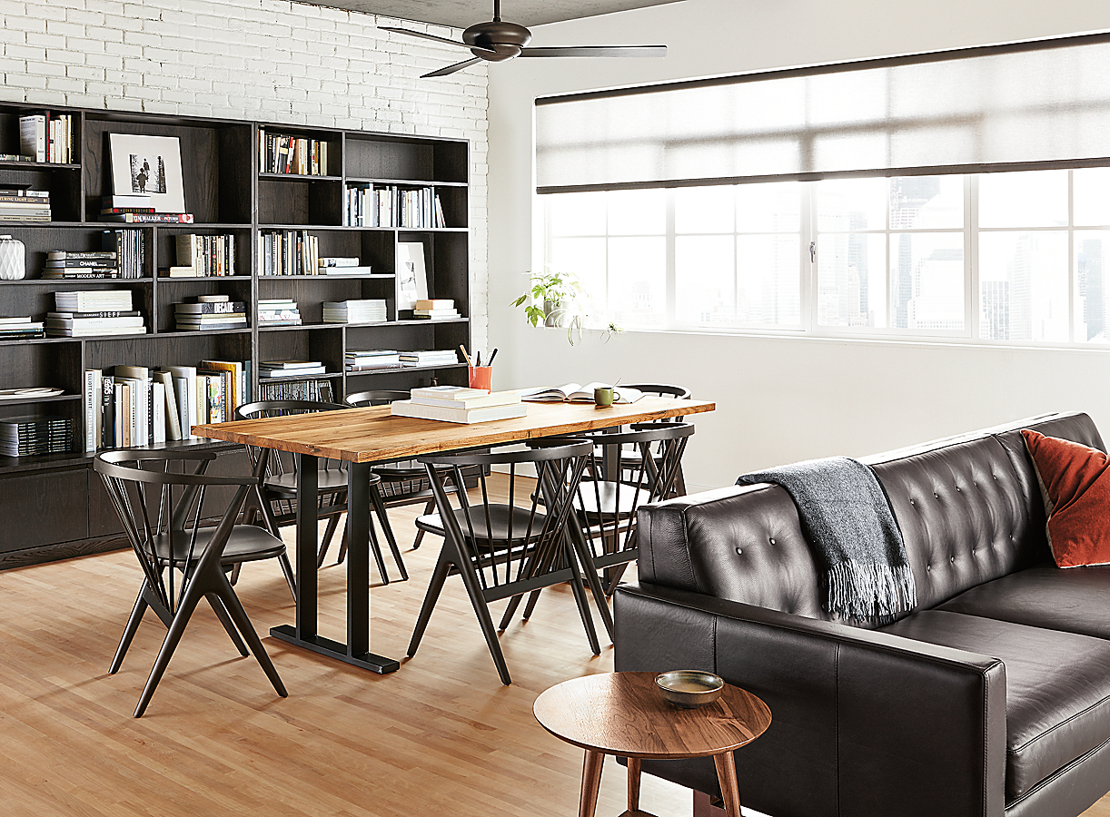 Keaton Bookcases in Charcoal