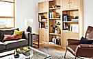 Woodwind Bookcase Maple Wall Unit