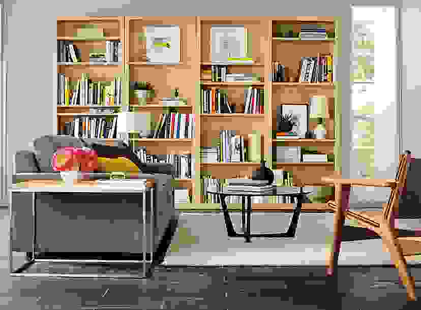 Four Woodwind Bookcases in Maple