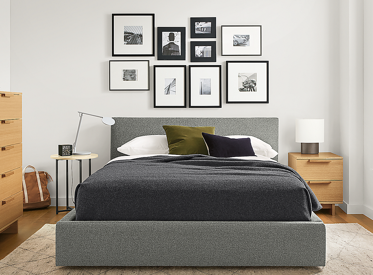 Washable Wool Blanket in Charcoal