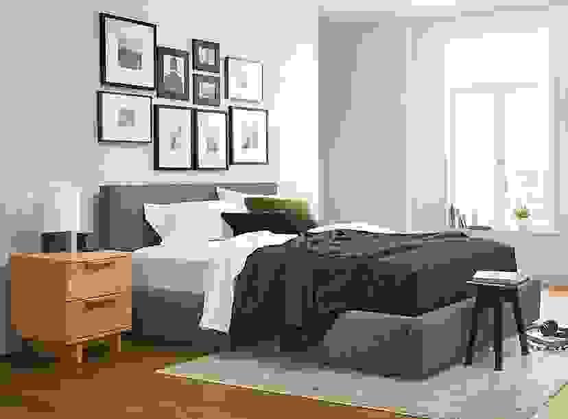 Bedroom Frame Wall Ideas